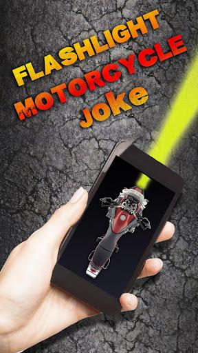Flashlight Motorcycle Joke