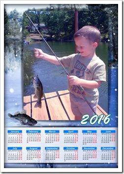 Super Kid calendar 2016