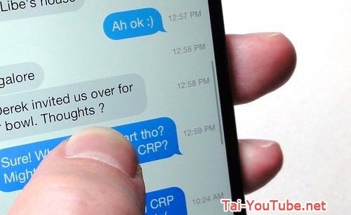 Hình 3 -  Những mẹo nhắn tin Messages trên iOS 8 cho iPhone, iPad