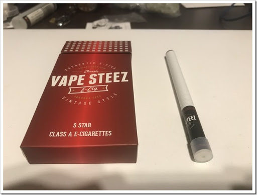 IMG 3877 thumb - 【リトルシガー?】VAPE STEEZオリジナル使い捨て電子タバコレビュー!禁煙薬ブプロンSRを取り寄せて飲んでみた話【個人輸入】
