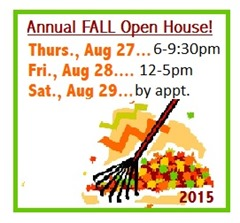 205-8 Fall Open HOuse