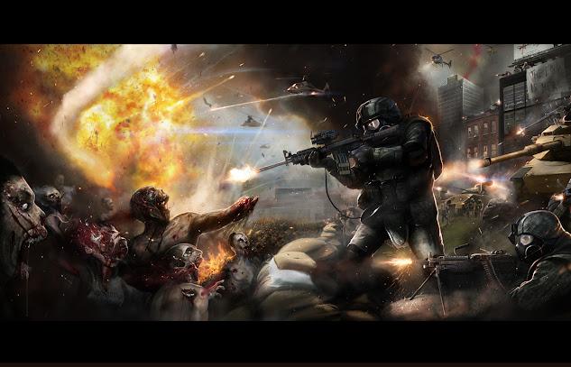 """III MERCADILLO DE AIRSOFT Y PARTIDA """"DOS REINOS:EL PÁNICO"""". LA GRANJA 17-03-13. Combate%2Bzombie"""