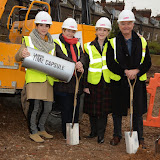 OIC - ENTSIMAGES.COM - Charlotte Riley,  Dame Janet Suzman, Patricia Hodge and Martin Shaw at the   LAMDA West London campus launch London 12th February 2015