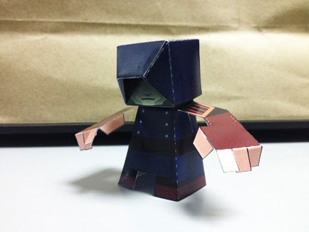 Amon Paper Toy
