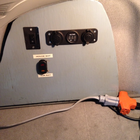 Prius House Car Battery Charging Modification
