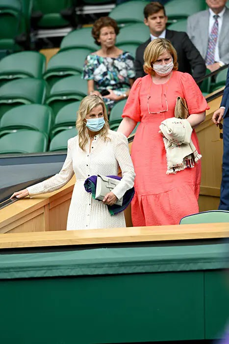 Princess Beatrice and Edoardo Join Countess of Wessex at Wimbledon
