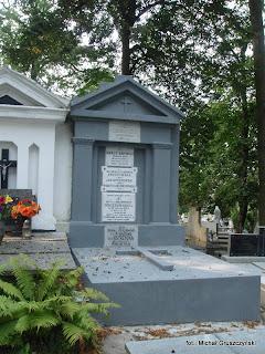 grobowiec dr Ostrzyckiego dziś...