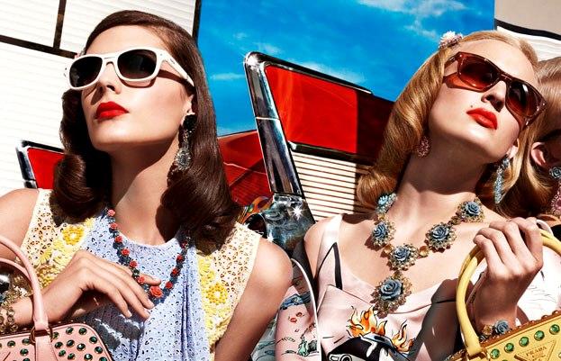 Prada eyewear 2012 campaign spring summer