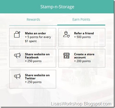 Stamp-n-Storage on Lisa's Workshop