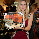 WWW.ENTSIMAGES.COM -    Ashley James  at      Whistle and  Bango  launch party at Wolf and Badger, London October 23rd 2014Ashley James, Ania Kubow and Rosie Parkes are showcasing their new brand and bracelets at a celebrity studded press launch                                                 Photo Mobis Photos/OIC 0203 174 1069