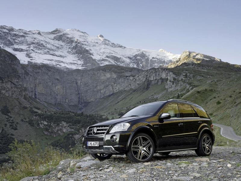 2010 Mercedes-Benz M-Class ML63 AMG Specifications ...