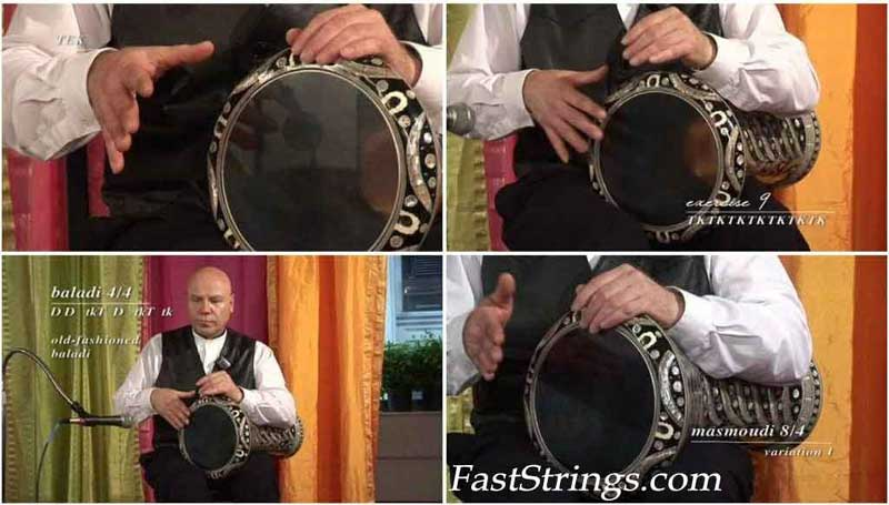 Amir Naoum - Doumbek Technique & Rhythms