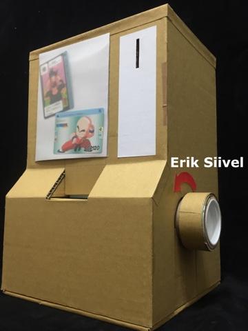 Erik Siivel: 自製玩具:DIY 龍珠 萬變卡 扭卡機(一)