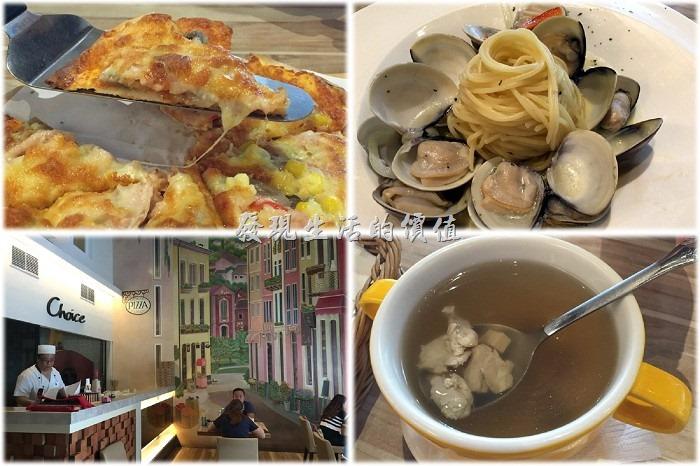 [台南]喬義思窯烤手作廚房,好吃的薄皮酥脆的披薩餅皮