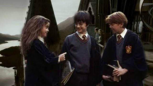 30 anos atrás Harry, Rony e Hermione tinham sua primeira aula de Astronomia