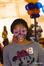 book release celebration face painting