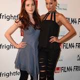 OIC - ENTSIMAGES.COM - Lorna Nickson Brown and Elarica Johnson  at the Film4 Frightfest on Friday of  After Death UK Film Premiere at the Vue West End in London on the 28th August 2015. Photo Mobis Photos/OIC 0203 174 1069