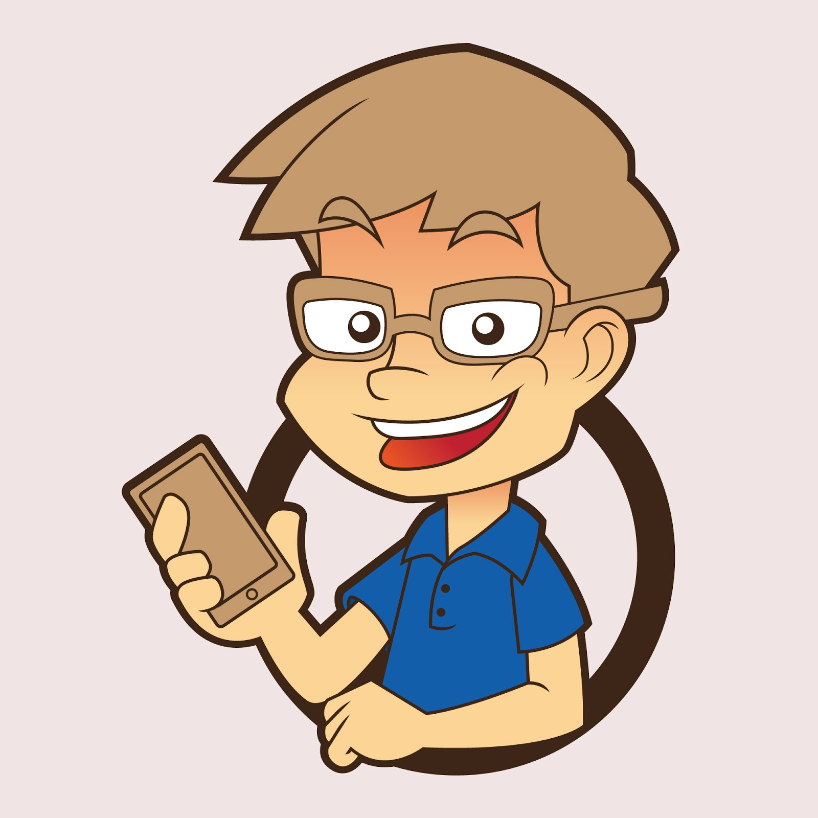Mobile Expert Illustration Free Download Vector CDR, AI, EPS and PNG Formats