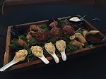 The hors d'oeuvres