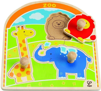 Đồ chơi Ghép hình Động vật tại Sở thú Hape At the Zoo