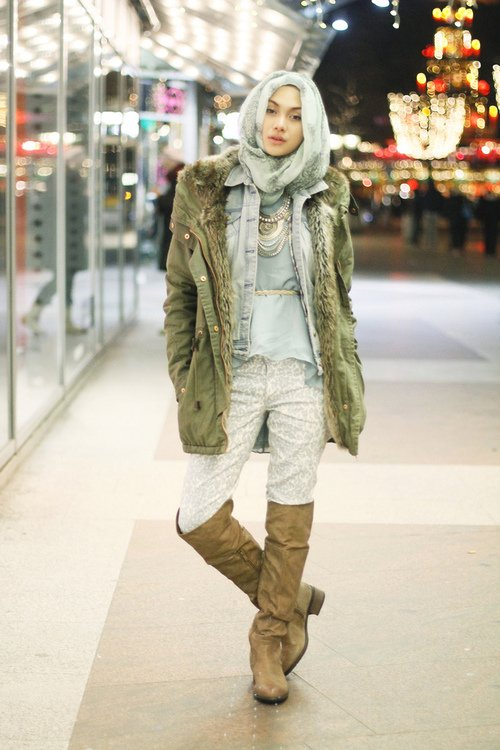 Hijabies Best Winter Outfit Inspiration Fashionre