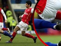 5 Cedera Pemain Sepakbola Terparah, Nomer 3 Ngeri Banget!