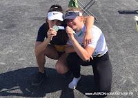 2019-03-Caroline et Lucie aux Championnats de Zone Nord-Ouest.