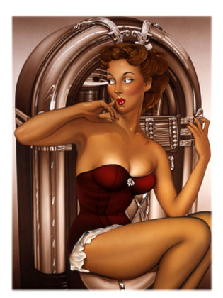 pin up photos. Pin Up Your Doodle.