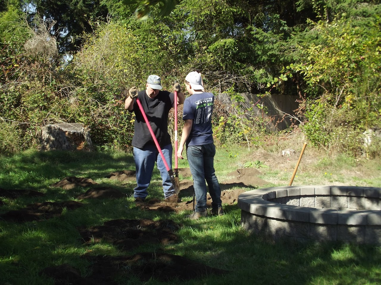 Carsons Eagle Project - October 2015 - DSCF3811.JPG