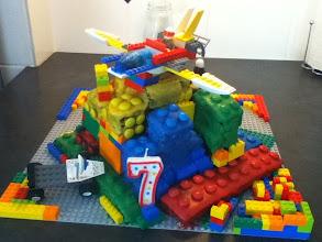 Photo: LEGO cake creation