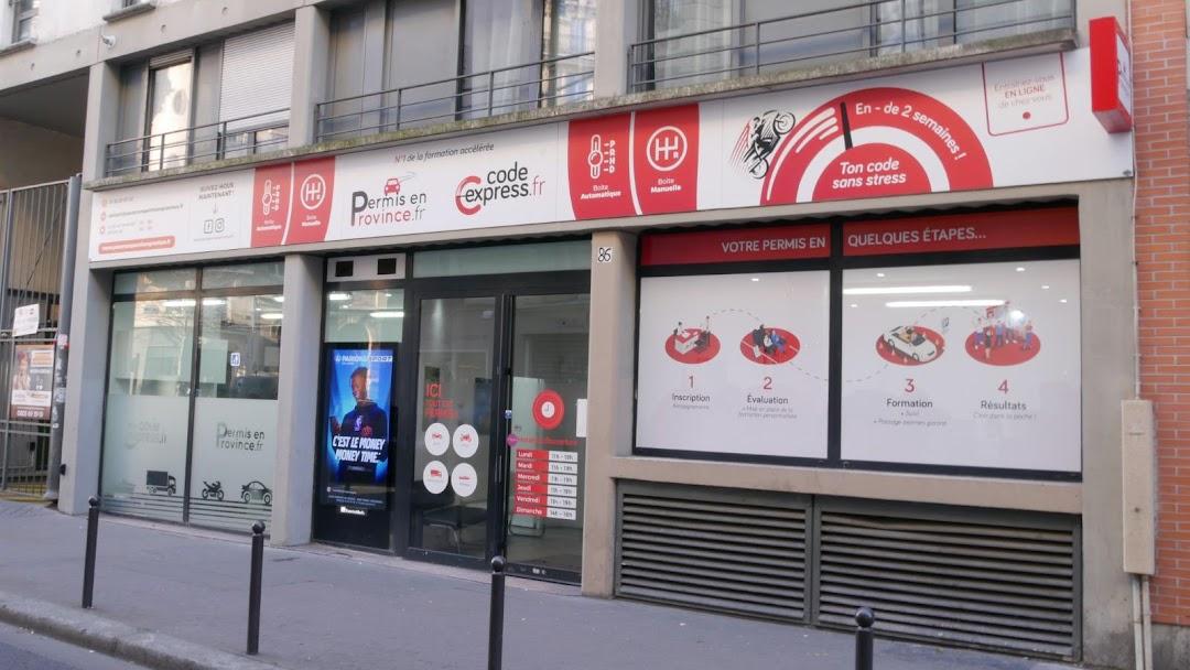 Passer Son Permis en Province - Agence - Auto-École à Paris