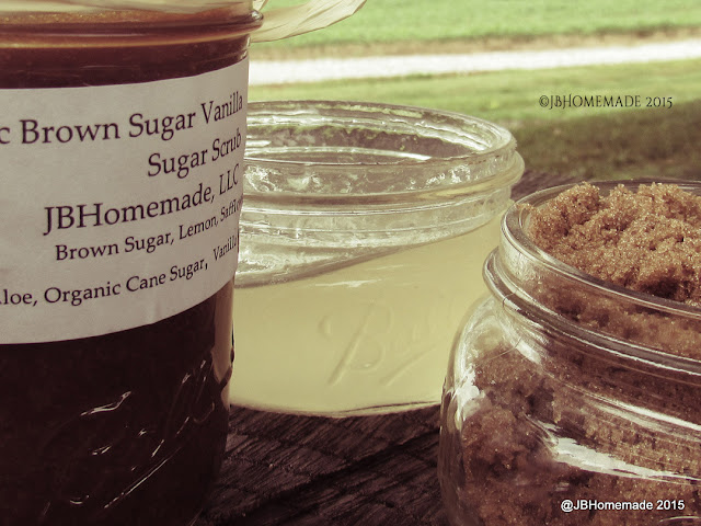 JBHomemade.com Vanilla Brown Sugar Scrub