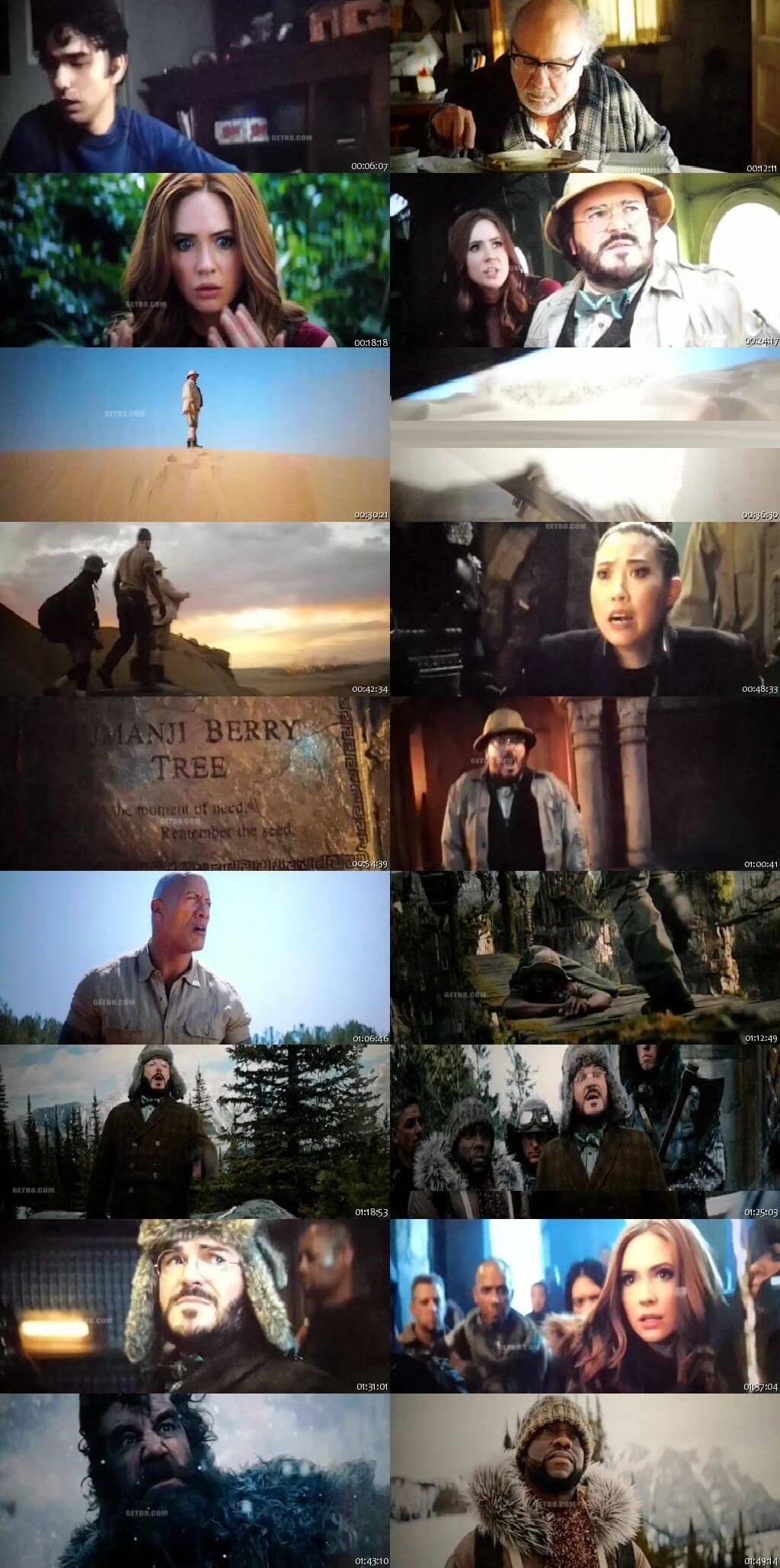 Screen Shot Of Jumanji: The Next Level 2019 300MB Full Movie Hindi Dubbed Free Download 480P HDCam | HDTC Small Size PC Movie