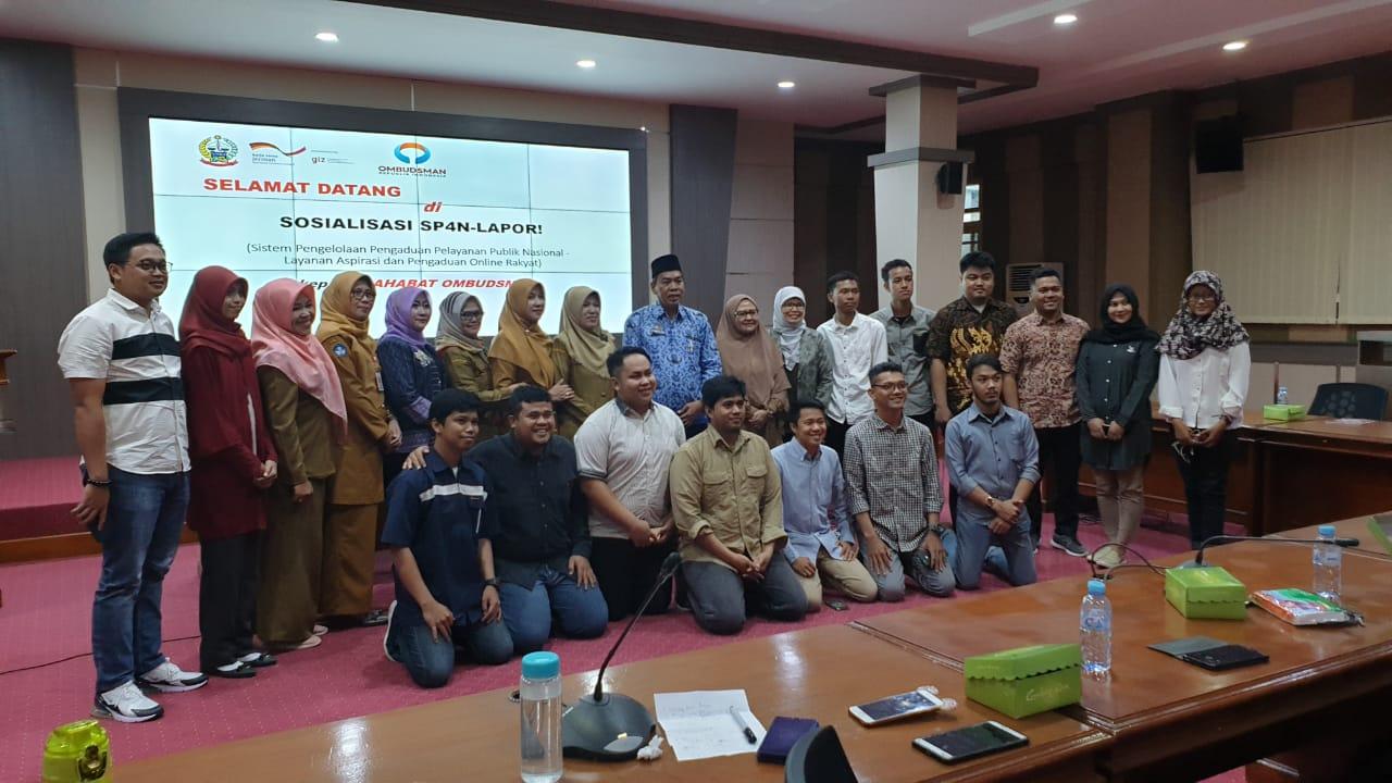 Kadis Kominfo Sulsel Gelar Kegiatan Sosialisasi Lapor SP4N Dengan Aplikasi Aduan Pelayanan