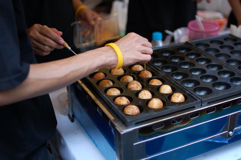 Takoyaki di Ennichisai