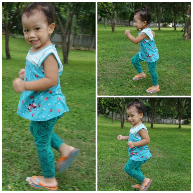 Diana Lari Di Taman