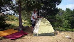 Camp au refuge de Paliri GR20 sud