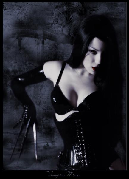 Vampire Muse By Nocturnal Butterfly, Vampire Girls 1