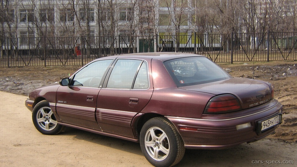1995 pontiac grand am sedan specifications pictures prices rh cars specs com 1995 pontiac grand am owner's manual 1995 pontiac grand am service manual