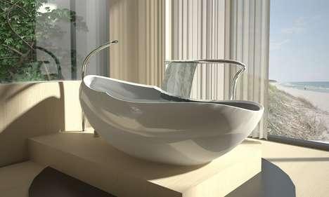 Delicieux Egg Shaped Bathtub