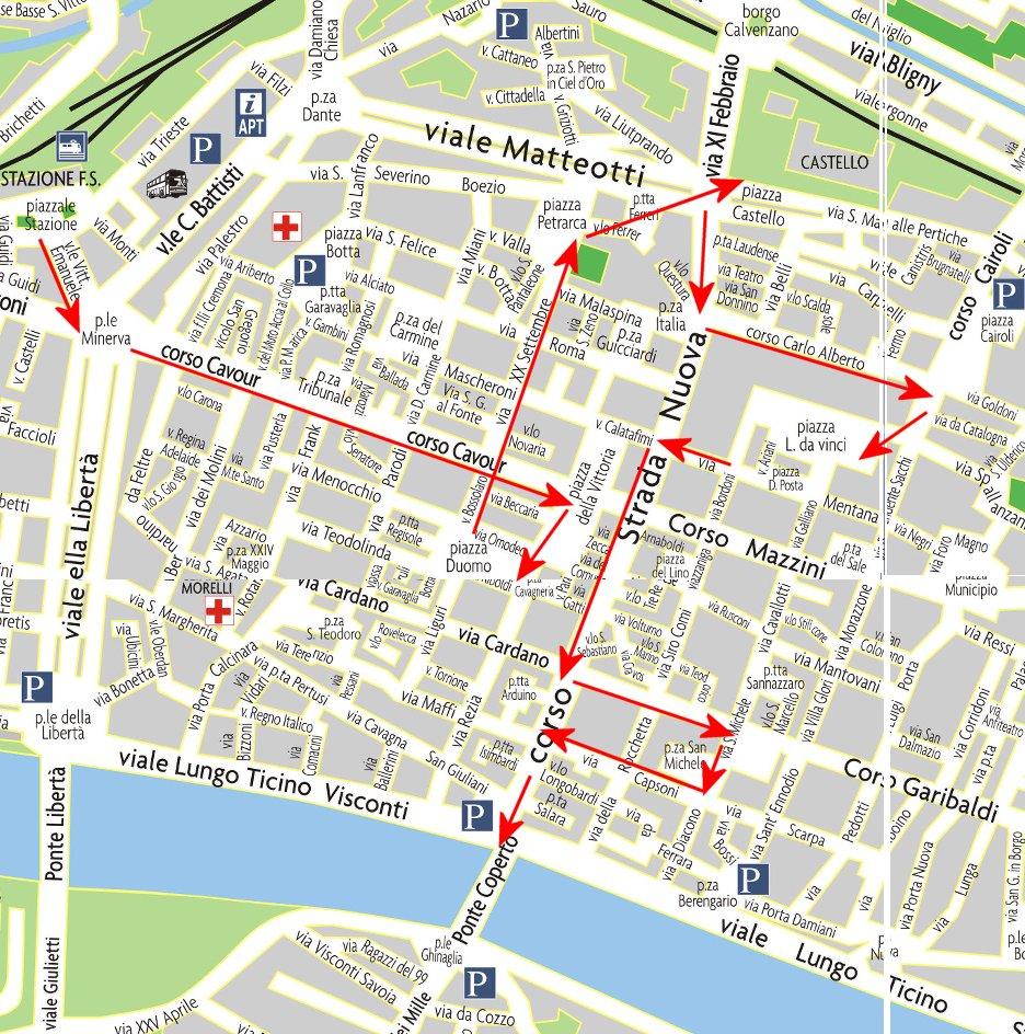 Un Giorno A Pavia Un Itinerario Nella Citt 224 Lombarda