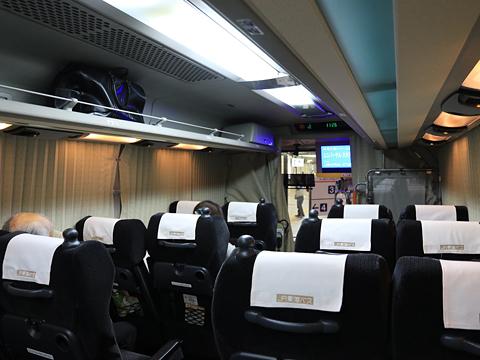 JR東海バス「青春大阪ドリーム名古屋1号」 744-13995 車内