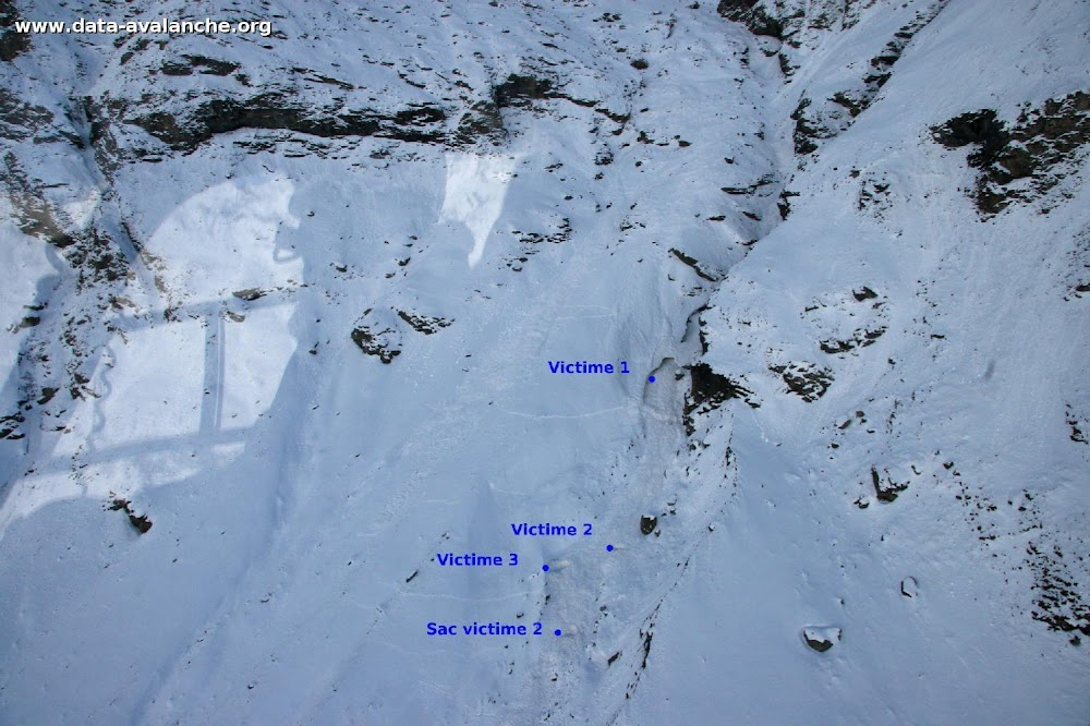 Avalanche Haute Maurienne, secteur Pointe du Lamet, Couloir de Roche Michel - Photo 1 - © Boniface Laurent