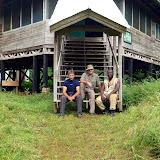 Le Centre de recherche (à l'abandon) dans le Parc National de Bia (Ghana), 13 décembre 2013. Photo : J.-F. Christensen
