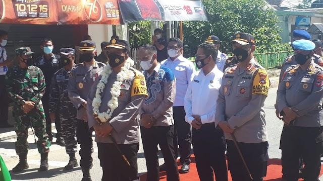 Ketua DPRD Kotabaru Hadiri Peletakan Batu Pertama di Mapolres