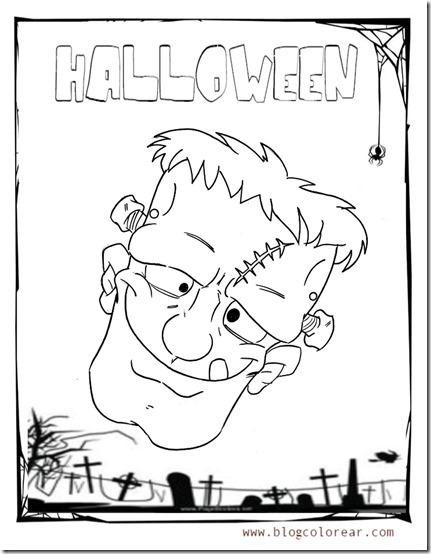 mascara  halloween de