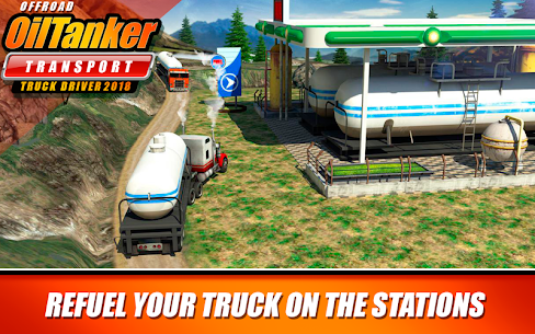 Offroad Oil Tanker Transport Truck Driver 2018 MOD (Unlimited Money) 2