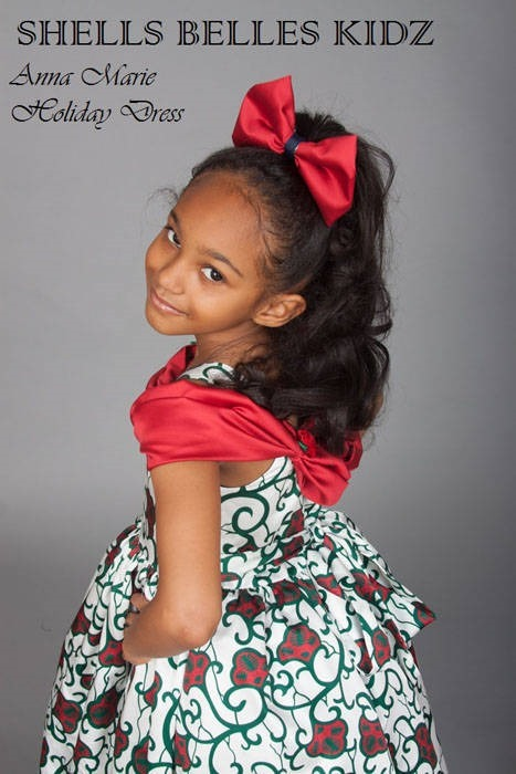 Ankara dresses for children (6)