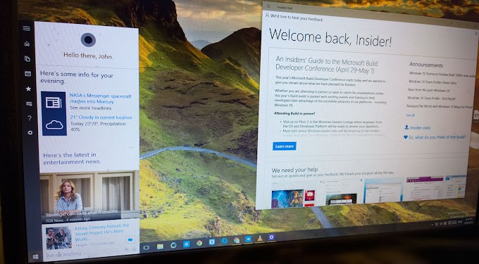 Microsoft releases Windows 10 Insider Preview build 10122 for Fast Ring