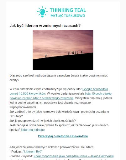 Turkusowy newsletter - archiwum